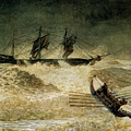 The Wreck Of The Iron Cloud, 1881 by Winslow Homer
