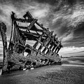 The Wreck Of The Peter Iredale by Rick Berk