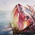 The Wreck by Radu Dumitrescu