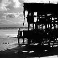 The Wreckage Of The Peter Iredale II by Todd Fox