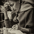The Writer Candid Shot Venice_dsc1374_02282017 by Greg Kluempers