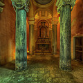 The Yellow Light Church 2 - La Chiesa Della Luce Gialla 2 by Enrico Pelos