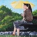 The Yellow Umbrella by Reb Frost