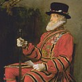 The Yeoman Of The Guard by Sir John Everett Millais