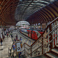 The York Train Station by Mark Hunter