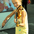 The Young Violinist  by Rob Hawkins