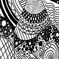 The Zendoodle Desert by Alicia Counter