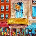 Theatre Rialto Ave. Du Parc Montreal by Carole Spandau