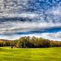 Thendara Golf Course - Autumn Landscape 8 by David Patterson