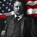Theodore Roosevelt 26th President Of The United States by Daniel Hagerman