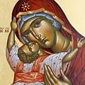 Theotokos Kardiotissa I by Julia Bridget Hayes