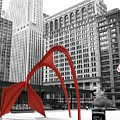 There's A Red Flamingo In Chicago by Alice Gipson