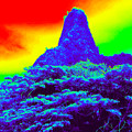 Thermal Face Of Hawaii by Chad Kroll