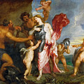 Thetis Receiving The Weapons Of Achilles From Hephaestus by Anthony van Dyck