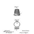 Thimble Patent 1891 by Bill Cannon