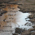 Things Have A Way by Shelia Howe