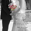 Things To Remember About Love - Black And White #3 by Claudia Ellis