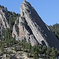 Third Flatiron In Boulder Colorado by Brendan Reals