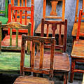 Thirteen Chairs by Dominic Piperata