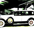 Thirties Packard Limo by Will Borden