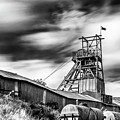 Thirty Seconds At Big Pit Mono by Steve Purnell