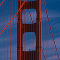 This Is A Close Up Of The Golden Gate by Panoramic Images