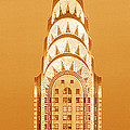 Chrysler Building At Sunset by Panoramic Images