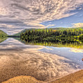 This Is British Columbia No.28 - Conkle Lake by Paul W Sharpe Aka Wizard of Wonders