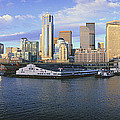 This Is The Skyline And Harbor by Panoramic Images