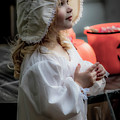 This Little Lady Gives Halloween Candy 5962vg by Doug Berry