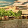 This Morning On The River by Leigh Kemp