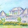 Thistle Lodge Casa Ybel Resort  by Carlin Blahnik CarlinArtWatercolor