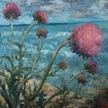 Thistles By The Sea by Gabriela Anitei