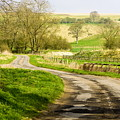 Thixendale Road  North Yorkshire by Richard Pinder