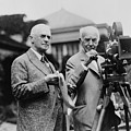 Thomas Edison 1847-1931 And George by Everett