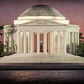 Thomas Jefferson Memorial At Sunset Artwork by Robert Barnes