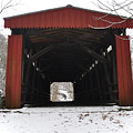 Thomas Mill Road Covered Bridge by Bill Cannon