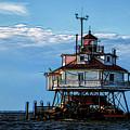 Thomas Point Lighthouse by Carol Ward