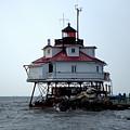 Thomas Point Shoal Lighthouse by Van Corey