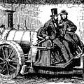 Thomas Rickett 1858 Steam Carriage Bw by David King