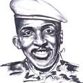 Thomas Sankara 02 by Emmanuel Baliyanga