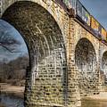 Thomas Viaduct Panoramic by Dennis Dame