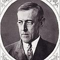 Thomas Woodrow Wilson, 1856 To 1924 by Vintage Design Pics