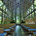 Thorncrown Chapel Interior by Cricket Hackmann