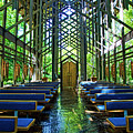 Thorncrown Chapel Serenity by Cricket Hackmann