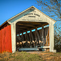Thorpe Ford Covered Bridge by Jack R Perry