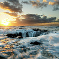Thors Well Cape Perpetua 2 by Bob Christopher