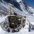 Thorong La Pass, Annapurna Circuit, Nepal by Aidan Moran