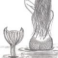 Thoughtful Mermaid by Kellie Simpson