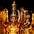 Thousand Hands Buddha by Venetta Archer